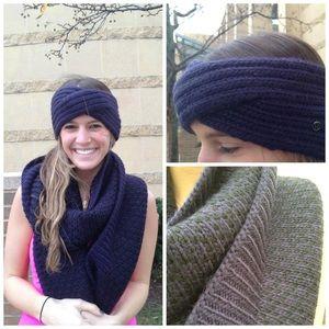 Lululemon Mad Knit Wool Ear Warmer